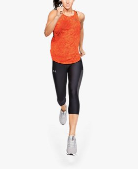 Camiseta sin mangas estampada UA Speed Stride para mujer