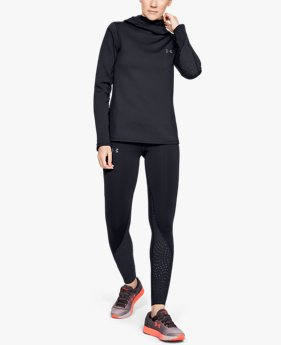 Damen UA Qualifier Speedpocket ColdGear® Tights