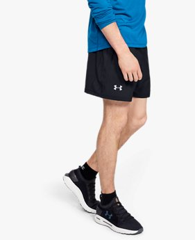 Men's UA Launch SW 13 cm Exposed Shorts