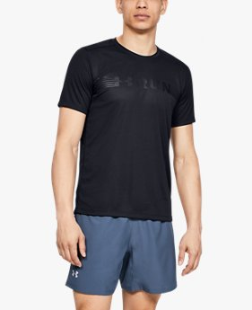 Men's UA Run Warped Short Sleeve
