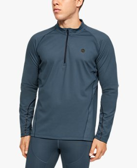 Herren UA RUSH™ ColdGear® Run mit ½ Zip