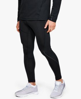 Men's UA RUSH™ ColdGear® Run Tights