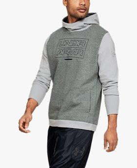 Sweat à capuche UA Baseline Fleece pour homme