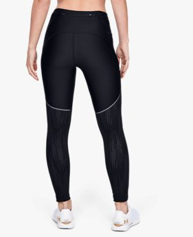 Women's UA Armour Fly Fast Glare Raised Thread Crop