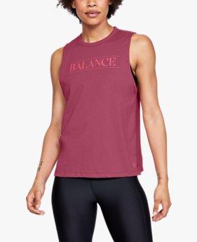 UA Balance Graphic Muscle Tank untuk Wanita