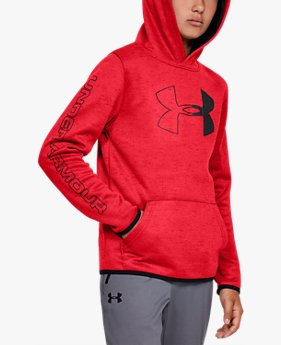 Sudadera con Capucha Armour Fleece® Branded para Niño