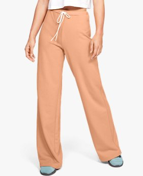 Women's UA Be Seen Terry Wide Leg Pants