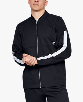 Men's Athlete Recovery Knit Warm-Up Jacket