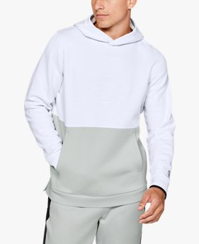 Men's Athlete Recovery Fleece Graphic Hoodie