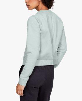 Camiseta UA Recovery Fleece Script para mujer