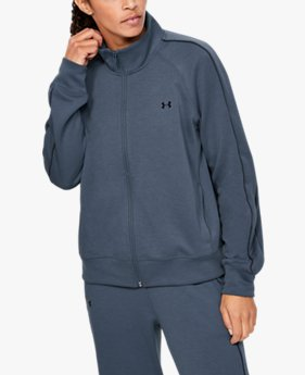 Women's UA Double Knit Track Jacket