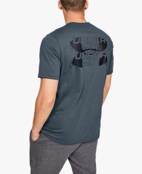 Men's UA Stacked Wordmark Short Sleeve