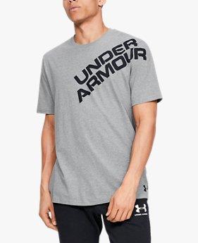 UAワードマーク ショルダー ショートスリーブ(トレーニング/Tシャツ/MEN)