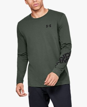 Men's UA Wordmark Sleeve Long Sleeve