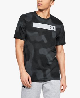 Men's UA Printed Bar Short Sleeve