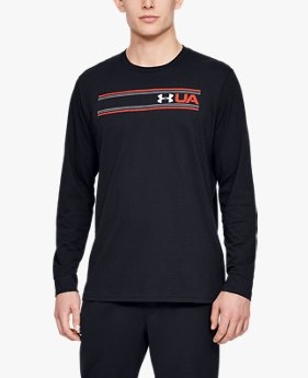 Men's UA Team Stripe Long Sleeve