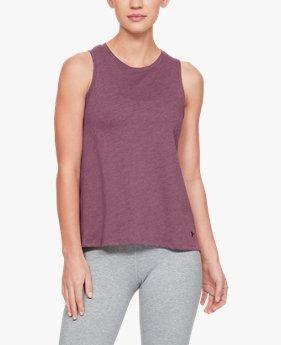 UAグラフィック ファッション フロー タンク エントワインド(トレーニング/Tシャツ/WOMEN)