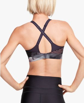 Women's UA Vanish Mid Print Sports Bra