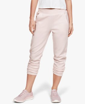 Women's UA Double Knit Track Trousers