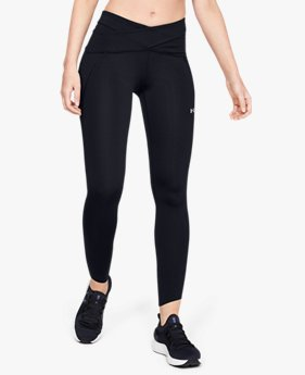 Damen UA Perpetual Leggings mit Bund in Wickelform