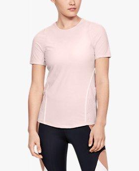 UAパーペチュアル パフォーレ―テッド ショートスリーブ(トレーニング/Tシャツ/WOMEN)