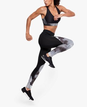 Damen UA RUSH™ Leggings mit Print
