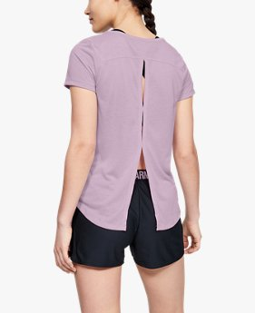 Camiseta de Treino Manga Curta Feminina Under Armour Whisperlight