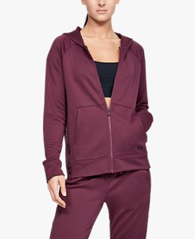 Moletom UA Tech™ Terry Full Zip Feminino