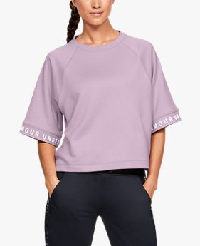 Women's UA Tech™ Terry Fashion Pullover