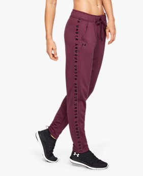 Women's UA Tech™ Terry Trousers