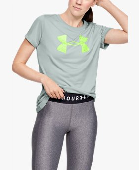 Women's UA Tech™ Short Sleeve Graphic