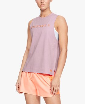 Women's UA Graphic Empower Muscle Tank