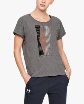 Women's UA Graphic Entwined Fashion Short Sleeve Crew
