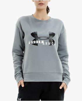 여성 UA 라이벌 플리스 크루 스웨트셔츠