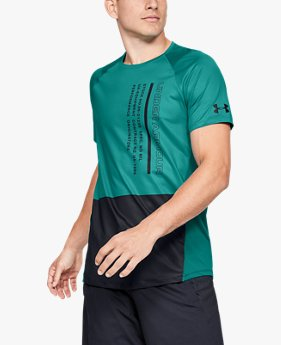 Men's UA MK-1 Colourblock Short Sleeve