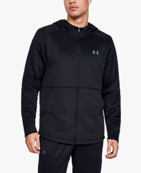 Felpa con cappuccio UA MK-1 Warm-Up Full Zip da uomo
