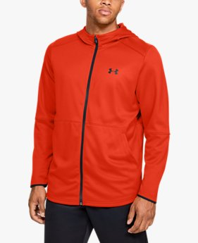 Sweat à capuche UA MK-1 Warm-Up Full Zip pour homme