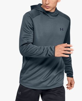 Sweat à capuche UA MK-1 Warm-Up pour homme