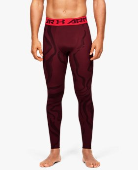 Men's HeatGear® Armour 2.0 Printed Leggings