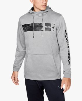 Sudadera con Capucha Armour Fleece® Bar Logo Graphic para Hombre