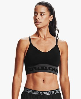 Women's UA Seamless Low Solid Sports Bra