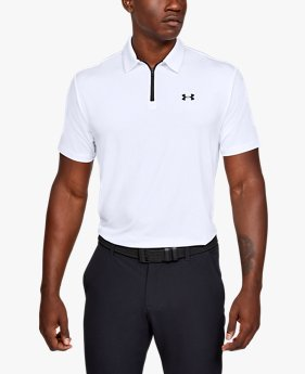 Men's UA Playoff Zip Polo