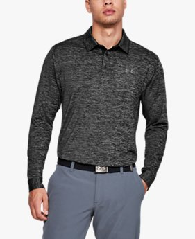 Men's UA Playoff 2.0 Long-Sleeve Polo