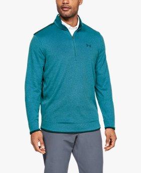 Sudadera con media cremallera UA SweaterFleece para hombre