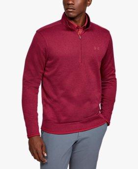 Maglia UA SweaterFleece ½ Zip da uomo