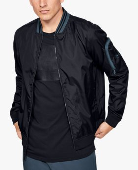 Men's UA Unstoppable Woven Bomber Jacket