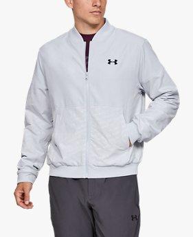 남성 UA 언스타퍼블 엠보스 보머 재킷