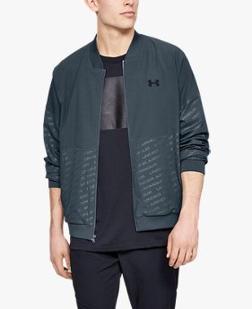 Chamarra Bomber UA Unstoppable Emboss para Hombre
