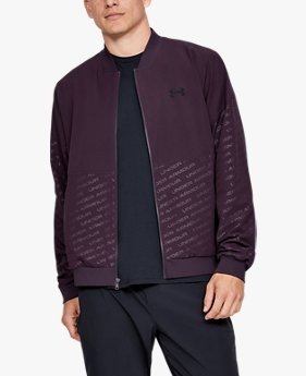 Men's UA Unstoppable Emboss Bomber Jacket