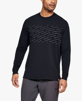Men's UA Unstoppable Wordmark Long Sleeve